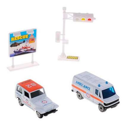 Набор машин спецслужб Welly 98630-9b