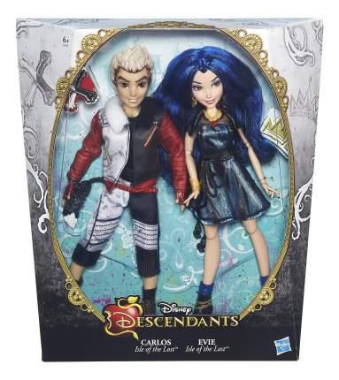 Набор из 2-х кукол Disney Иви и Карлос в оригинальных костюмах b3127 b3129