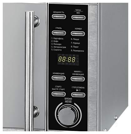Микроволновая печь с грилем и конвекцией BBK 25MWC990T/S-M silver/mirror