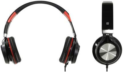 Игровые наушники Defender Accord 175 Red/Black