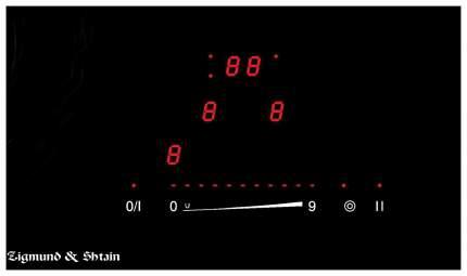Встраиваемая варочная панель электрическая Zigmund & Shtain CS 139.45 BX Black