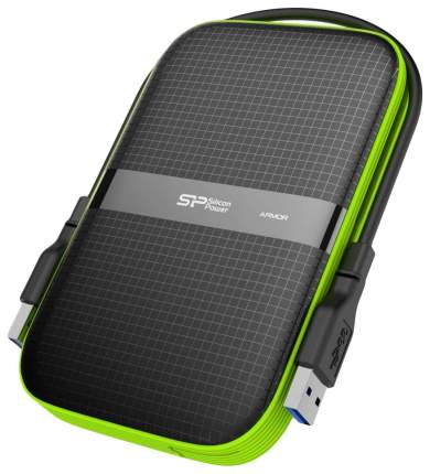 Внешний диск HDD Silicon Power Armor 2TB Green/Black (sP020TBPHDA60S3K)