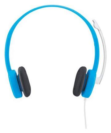 Игровые наушники Logitech Stereo Headset H150 Cyan
