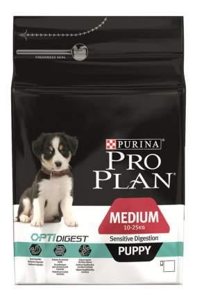 Сухой корм для щенков PRO PLAN OptiDigest Medium Puppy, ягненок, 12кг