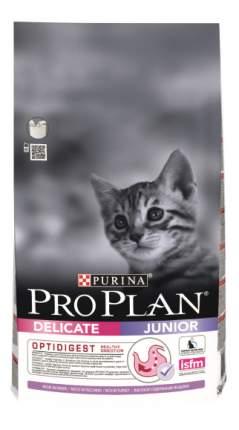 Сухой корм для котят PRO PLAN Junior Delicate, индейка, 0,4кг