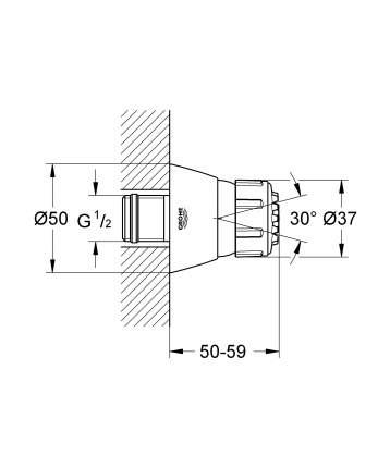 Боковой душ(форсунки) Grohe 28286000