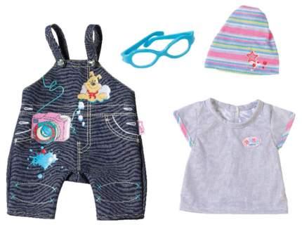 Комплект одежды джинсовой 822-210 для кукол Zapf Creation