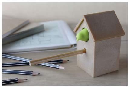 Точилка для карандашей Qualy Cuckoo зеленый