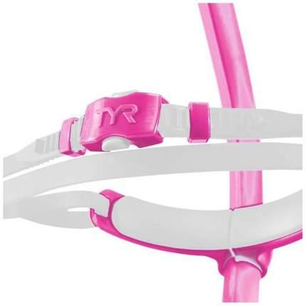 Трубка для плавания TYR Ultralight Snorkle Junior LSNRKLJR розовая (670)