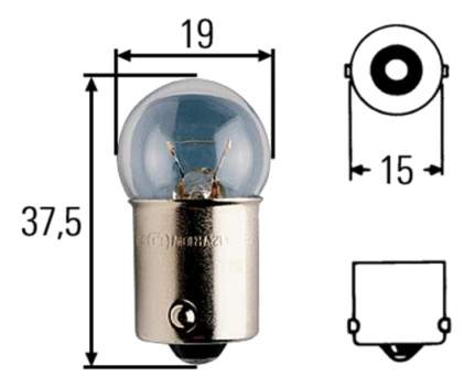 Лампа Hella 10W BA15s 8GA 002 071-251