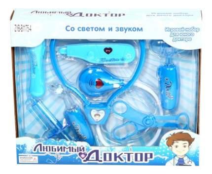 Игровой набор любимый доктор 8 предметовсо звуком Zhorya ZYB-B1175-4