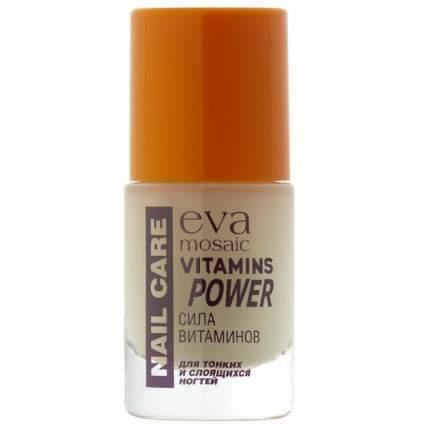 Укрепляющее средство для ногтей Eva Mosaic Сила витаминов, 10 мл
