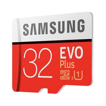 Карта памяти Samsung Micro SDHC EVO Plus MB-MC32GA/RU 32GB