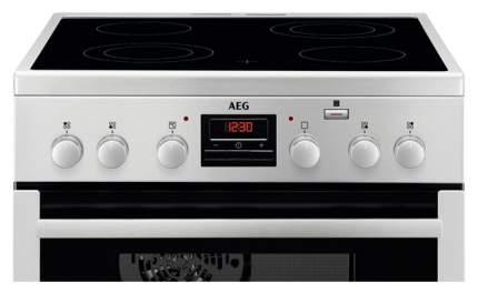 Электрическая плита AEG CCM66400BX Silver