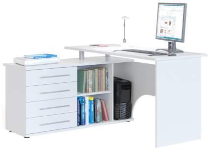 Стол компьютерный СОКОЛ КСТ-109П Белый 2Box