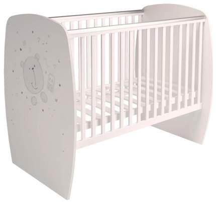 Кровать детская Polini Kids French 700, Teddy, Белый