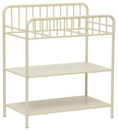 Столик для пеленания Polini Kids Vintagе 1180 металлический, Кремовый
