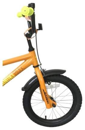 Велосипед двухколесный Stark Tanuki 16 BMX 2019 Оранжевый/Желтый