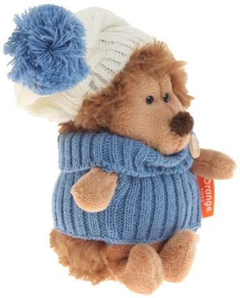 Мягкая игрушка Orange Toys Ёжик Колюнчик в шапке с голубым помпоном 15 см Life