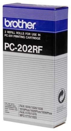 Лента для факса Brother PC-202RF Черный