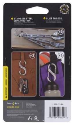 Набор карабинов Nite Ize S-Biner SlideLock 3 Pack Stainless LSBC-11-R6