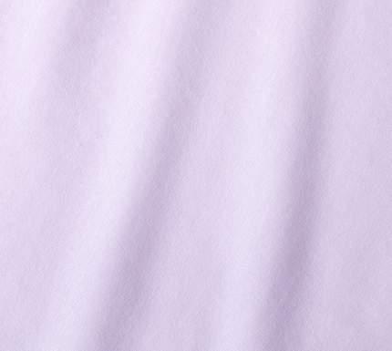 Простыня трикотажная на резинке (светло-сиреневая) 90х200х20