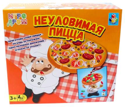 Игра настольная 1TOY Неуловимая пицца