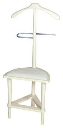 Вешалка напольная Мебелик с сиденьем В 26Н Слоновая кость