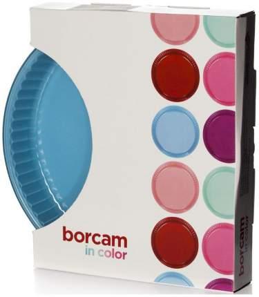 Посуда для СВЧ круглая 32 см,стекло (голубой) 59014BL
