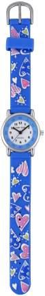 Детские наручные часы Тик-Так Н101-2 голубые сердца