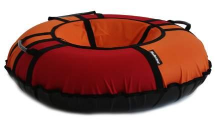 Тюбинг Hubster Хайп красный-оранжевый 100 см