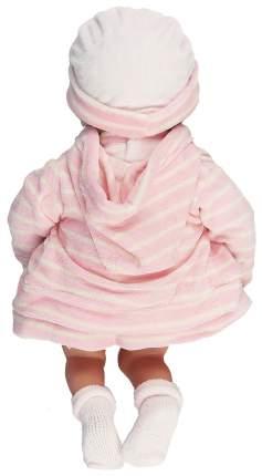 Пупс Arias Elegance в розовой одежде с изображением зайчика, 38 см, арт. Т16354
