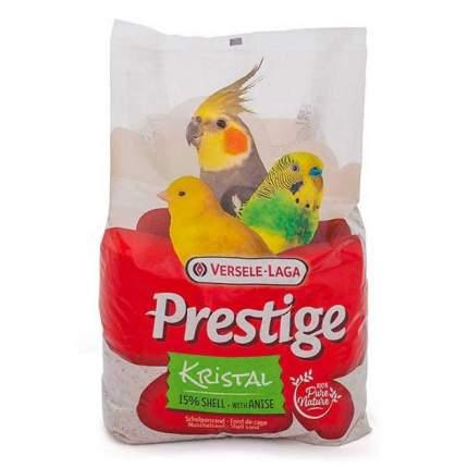 Подстилка в клетку для птиц Versele-Laga Prestige Kristal, песок с ракушечником, 25кг