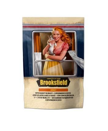 Влажный корм для кошек BROOKSFIELD Adult, кролик в соусе, 22шт по 85г