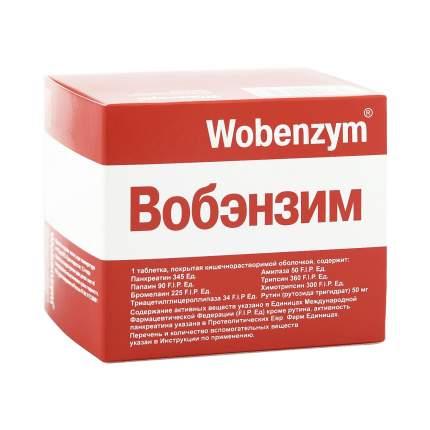 Вобэнзим таблетки кишечнораств. 200 шт.