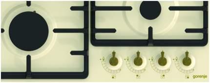 Встраиваемая варочная панель газовая Gorenje G641CLI Beige