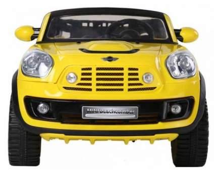 Радиоуправляемый детский электромобиль Jiajia Mini Cooper Желтый