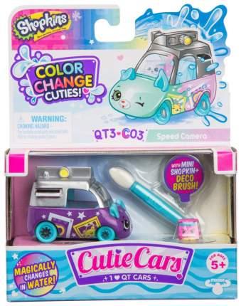 Машинка пластиковая Cutie Cars 57401/ast57107 Speed Camera меняющая цвет с кисточкой