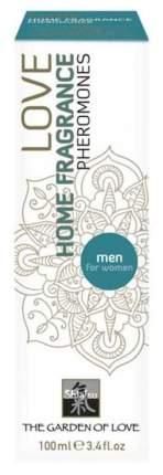 Феромоны для дома Shiatsu Home Fragrance men для воздействия на женщину 100 мл