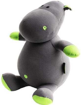 Игрушка-подушка Gekoko Бегемот малыш Няша зелёный A087