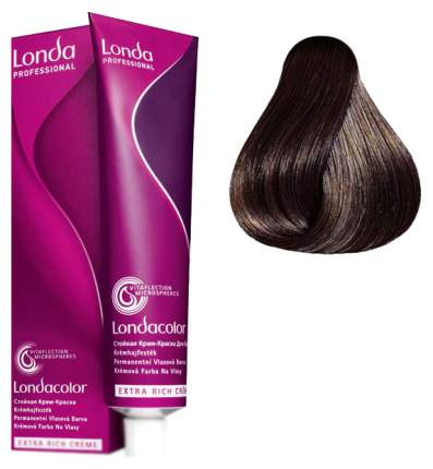 Стойкая крем-краска Londa Professional Londa Color 6/7 Тёмный блонд коричневый 60 мл