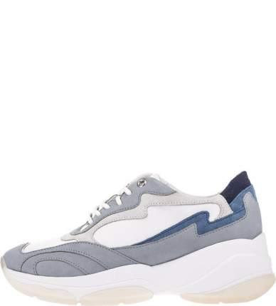 Кроссовки женские GEOX D92BPB 08532 C1ZF3 белые/синие/серые 41