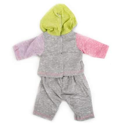 Одежда для кукол hello kitty штаны и кофта с капюшоном 40 42 см Карапуз