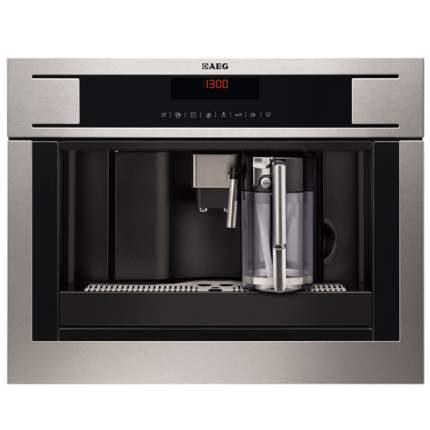 Встраиваемая кофемашина AEG PE4571-M Silver/Black