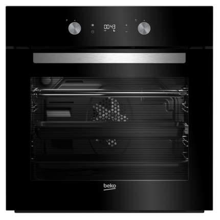 Встраиваемый электрический духовой шкаф Beko BIM24301BCS Black