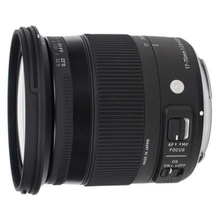 Объектив SIGMA 17-70mm f/2.8-4 DC Macro OS HSM Canon EF-S