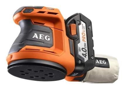 Аккумуляторная эксцентриковая шлифовальная машина AEG BEX18-125 LI-402C 4935451087