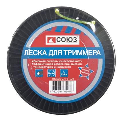 Леска для триммера Союз ТЛ3535-2.4-8-120