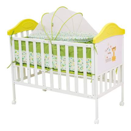 Кроватка BabyHit Sleepy Compact-green 120x60