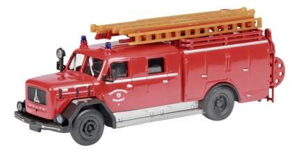 Автомобиль пожарный Schuco Magirus-Deutz LF 16 1:87